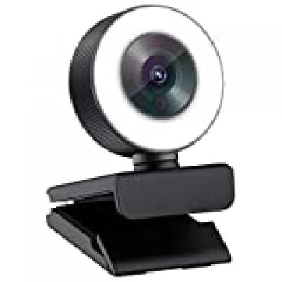 Digital High Definition Webcam με Ring Light